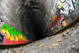 A Train Tunnel and a Broken Shutter | by haban hero