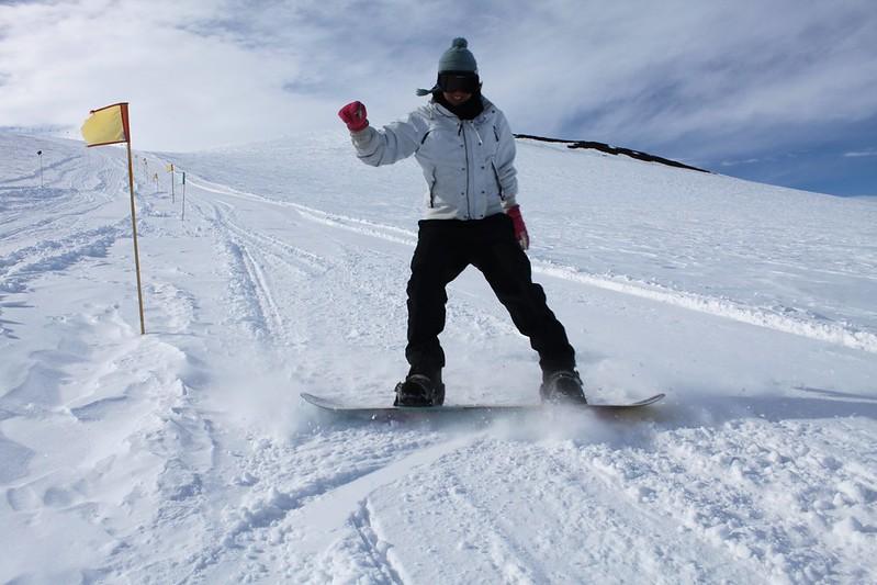 Antarctica: Snowboarding at Castle Rock
