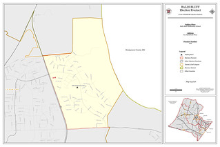 Precinct 508 - Balls Bluff   by Office of Mapping, County of Loudoun