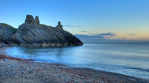 morning ireland sea black castle robert sunrise nikon wicklow d60 robertoduill oduill