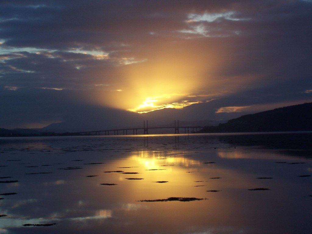 Glorious Glow, Moray Firth, Inverness, March 2011