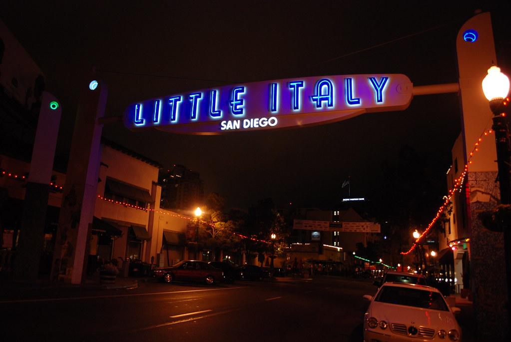 A Late Night Walk Around San Diego's Little Italy: Little … | Flickr