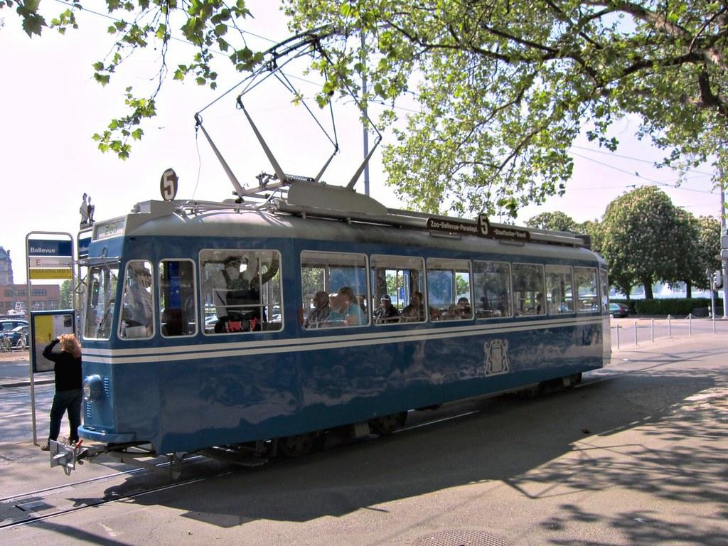 Ce 4/4 1392 Tram Museum Zürich 2011