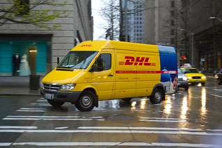 DHL Van | by Atomic Taco