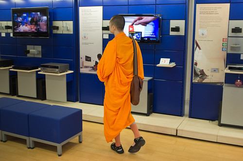 Tech Shopping Monk