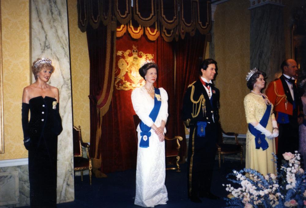 Royal Family at Madame Tussaud's London