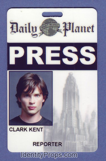 Planet Smallville Clark Superman Flickr Daily Pass … Kent Press Id