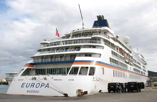 MS Europa @ Ibiza