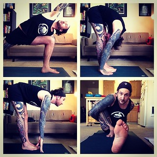 afternoon yoga yogaeverydamday and sometimes more than
