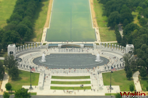 WWII Memorial Tilt Shift | by Wallin Photographic