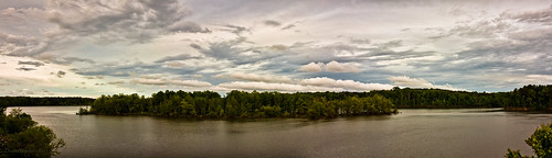 light sunset panorama lake nature water clouds canon landscape nc spring northcarolina denise jordanlake worden 450d deniseworden