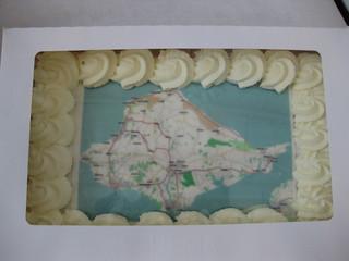 Open Street Map cake