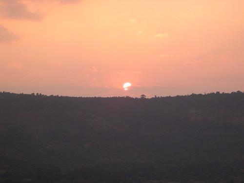 sunset india maharashtra pune budhha