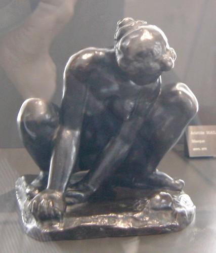 Aristide MAILLOL (1861-1944) - Femme au crabe, vers 1930   by Heinz Theuerkauf