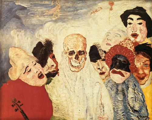 [ E ] James Ensor - Maska (1897)