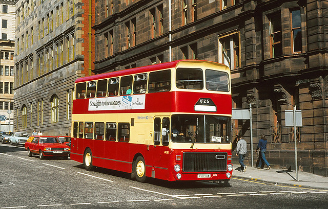 Western Scottish A90 Glasgow