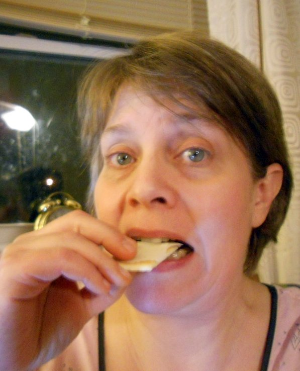 Cheese & crackers--daily image 2011--March 25
