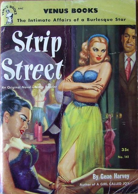 Strip Street - Venus Books - No 141 - Gene Harvey - 1952.