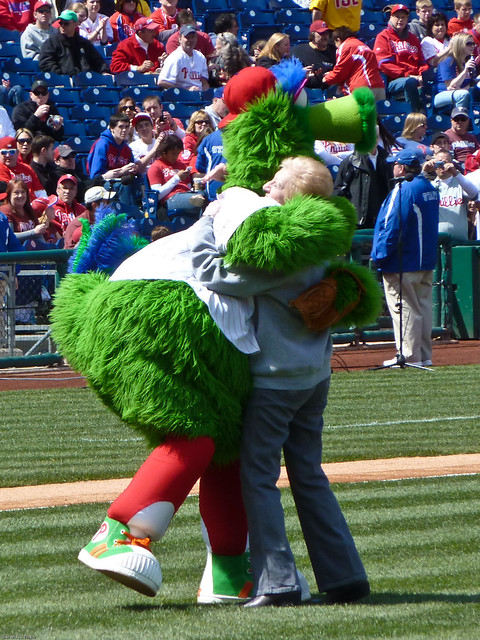 Phanatic Smothers a Woman