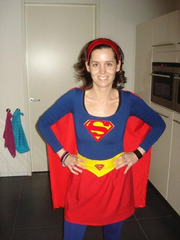 Verwonderlijk Superwoman   t-shirt en rok met opdruk van flock (strijkvelo…   Flickr HV-57