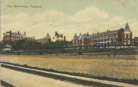 The Sanitorium, Bevendean, Brighton, 1910