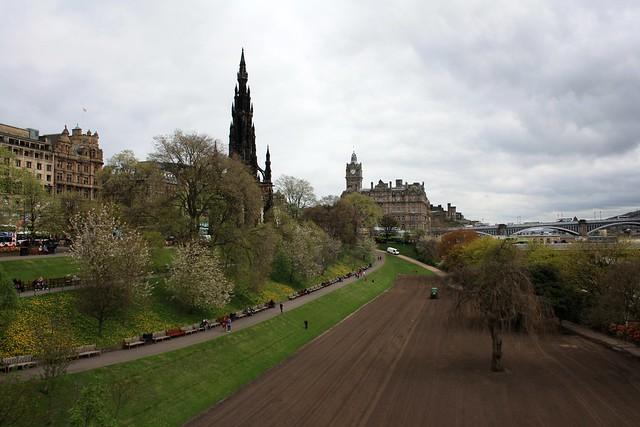 Edinburgh: Princes Street Gardens ( under maintenance)
