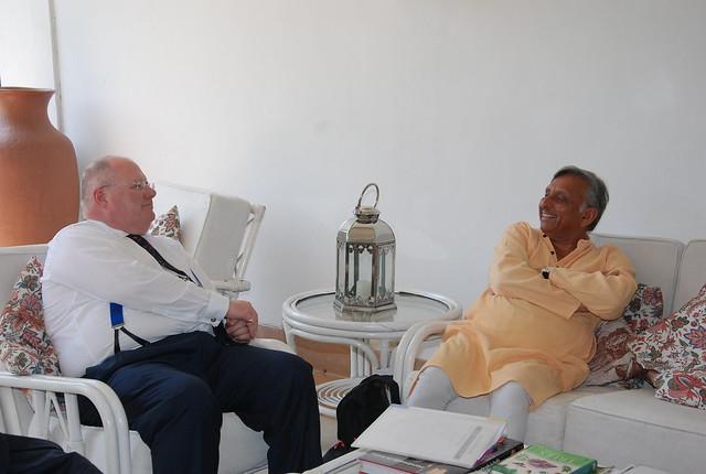 Eric Pickles in India 18-21 April 2011