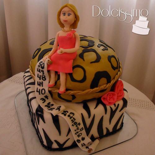 Fine Animal Print Birthday Cake Anita Dolcissimo Flickr Funny Birthday Cards Online Inifofree Goldxyz