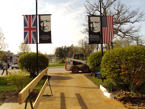 Entrance Banners | by churchillmuseum