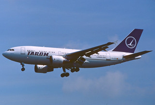 TAROM Airbus A310-324; YR-LCC, July 1994 (from my collection, not my picture)