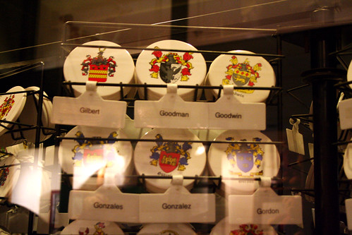 Queen Mary - British Goods Shop Carries Gonzales AND Gonzalez Family Crests | by Miss Shari