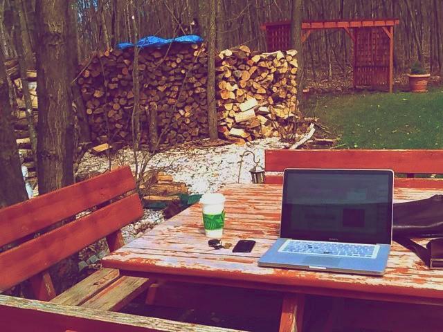 Work outside, it's worth it