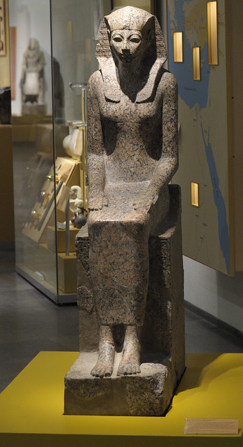 the real life size hatshepsut (RMO Leiden)