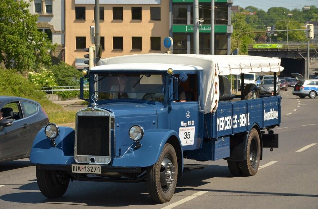 Mercedes-benz lo 2750 renntransporter 1936