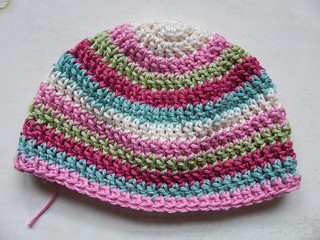 WIP baby hat, Patons/Cotton Glace | by hevs_illyria