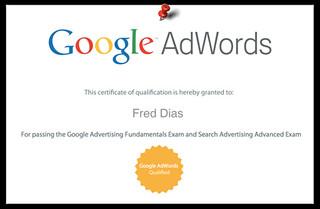 Certificado Renovado do Google Adwords para a 7 Pontos | by 7Pontos.
