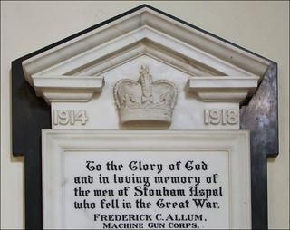 the men of Stonham Aspal