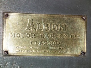 1916 Albion A10 3 ton truck