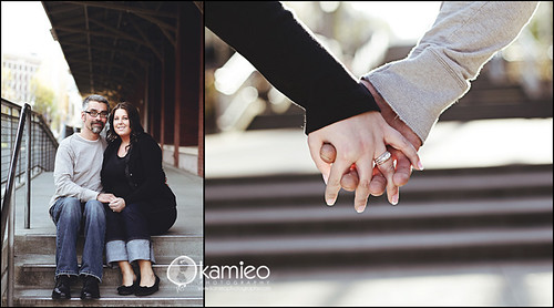 K. Engaged | by Kamieo Photography