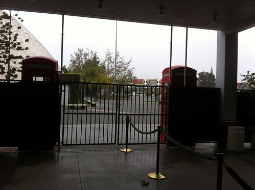 Queen Mary - Gate to Museum Is Locked, But We Are Inside   by Miss Shari