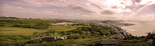 Aberystwyth from the top of Constitution Hill | by izzie_whizzie