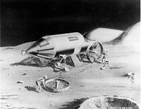 Lunar Rover Proposed by Science Fiction Writer Jerzy Zulawski in 1901 | by NASA APPEL Knowledge Services