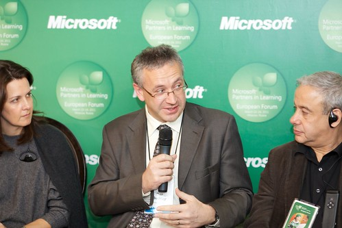 Mary Cullinane, Dan Buckley and Alexander Asmolov | by 2011 Microsoft Partners in Learning European Forum