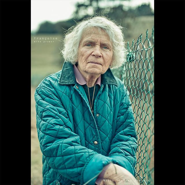 Françoise - Wine grower   #40/101 WOMEN DAY PROJECT (v2)