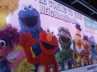 Sesame Street Semi Trailer | by Fund for the Arts Pics