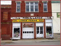 Vintage feed store