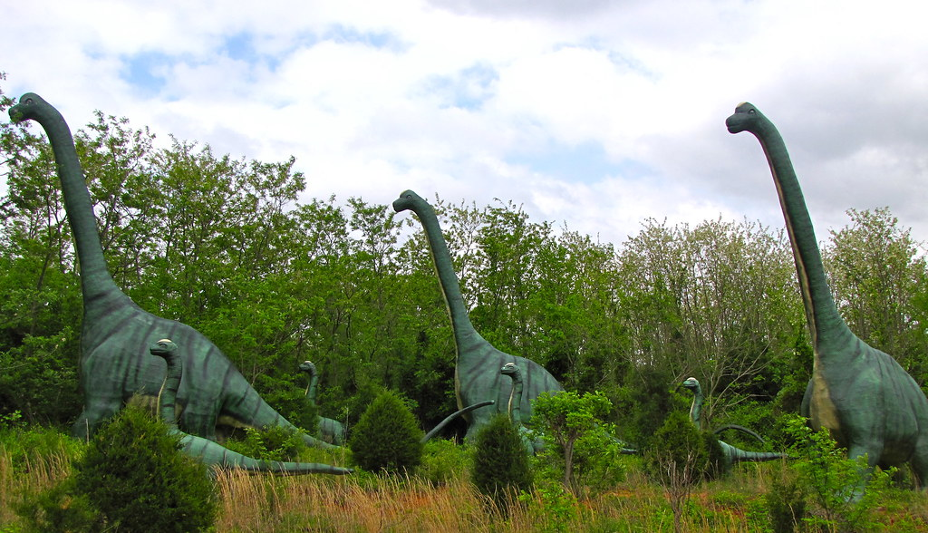 brachiosaurus | At Dinosaur World in Cave City, KY | London looks | Flickr