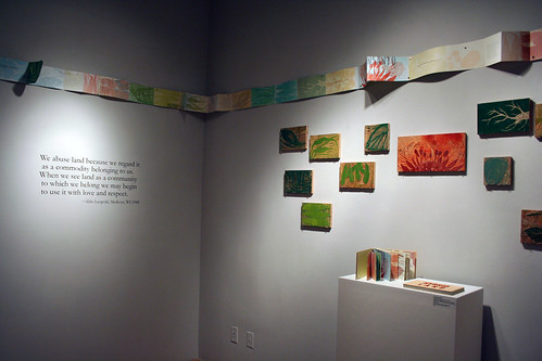 Installation view | by UA Dept. of Art & Art History