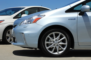 Toyota's new Prius V Hybrid car | by Robert Scoble