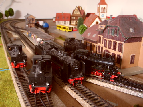 Line-up van de stoomlocomotieven in Sölbëringen | by marten_1997